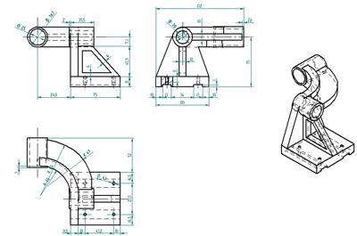 Ea pablo giraldo dibujo tecnico for Plano de planta dibujo tecnico
